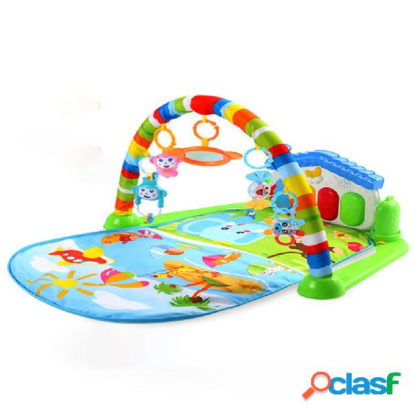 Tappetino da gioco multifunzione 3 in 1 per neonato idoneità gym tappetino per attività