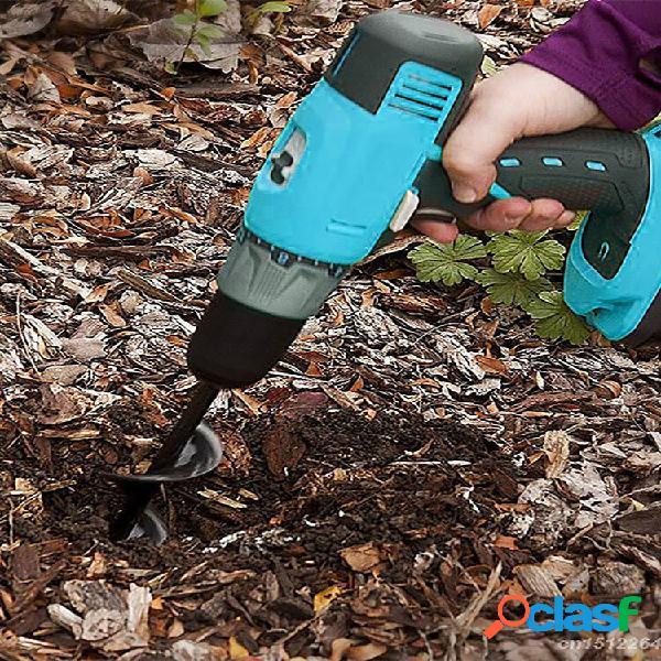 Trivella da giardino utensile per trapano a spirale foro scavatore trapano a terra trapano a terra per semina giardinagg