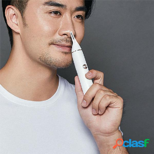 Naso multifunzionale orecchio capelli trimmer naso orecchio tempio capelli elettrico trimmer strumento per la cura degli