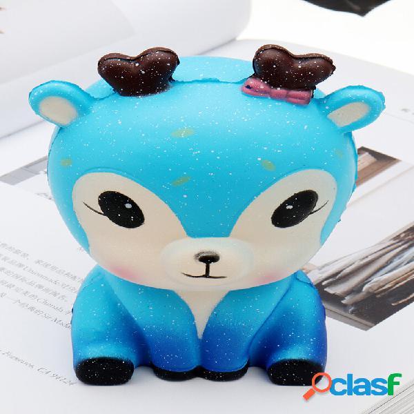 Squishy kawaii galaxy fawn squishy collezione giocattolo soft regalo