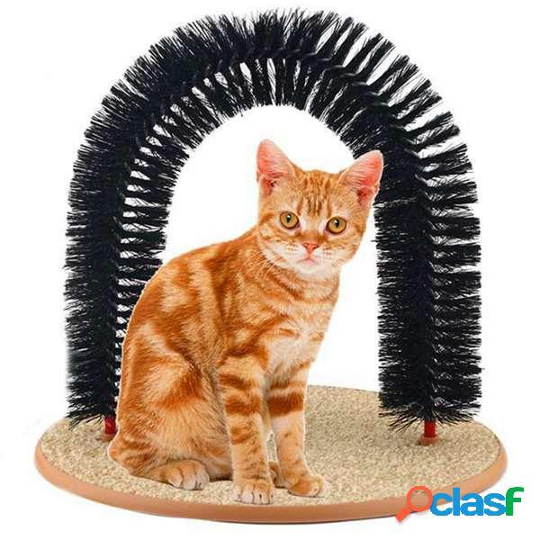 Giocattolo di animale domestico della moquette del gattino del rasoio del gattino del gattino dell'arco del gatto dell'a