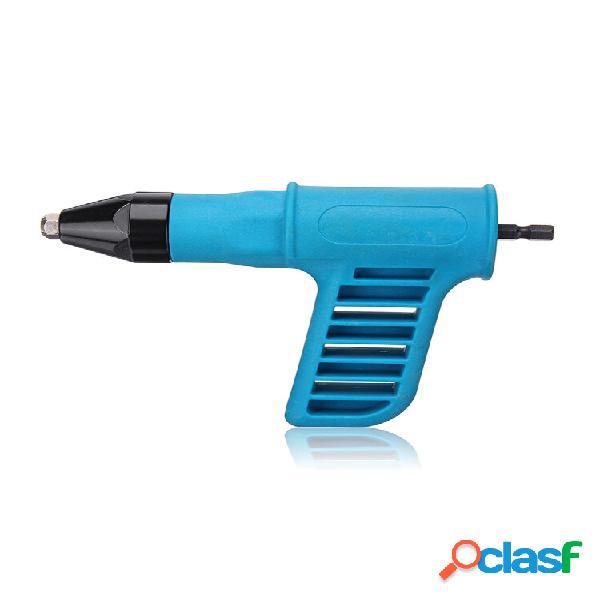 Drillpro trapano elettrico per rivettatrice a batteria strumenti kit inserto adattatore rivettatrice dado