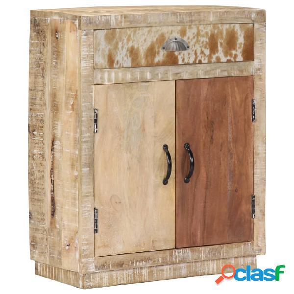 Vidaxl credenza 60x30x75 cm in legno massello di mango