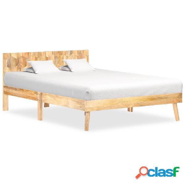 Vidaxl giroletto in legno massello di mango 120x200 cm