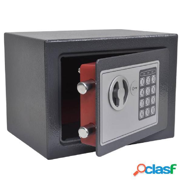 Vidaxl cassaforte digitale elettronica 23x17x17 cm