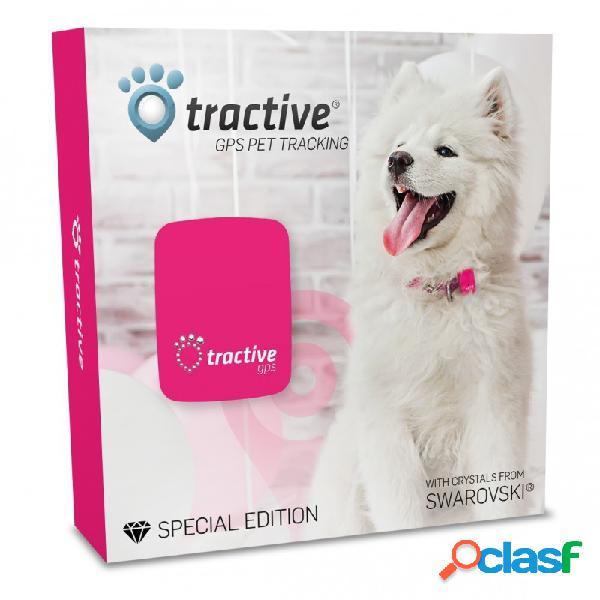 Tractive gps - tractive localizzatore gps per animali swarovski® kit completo