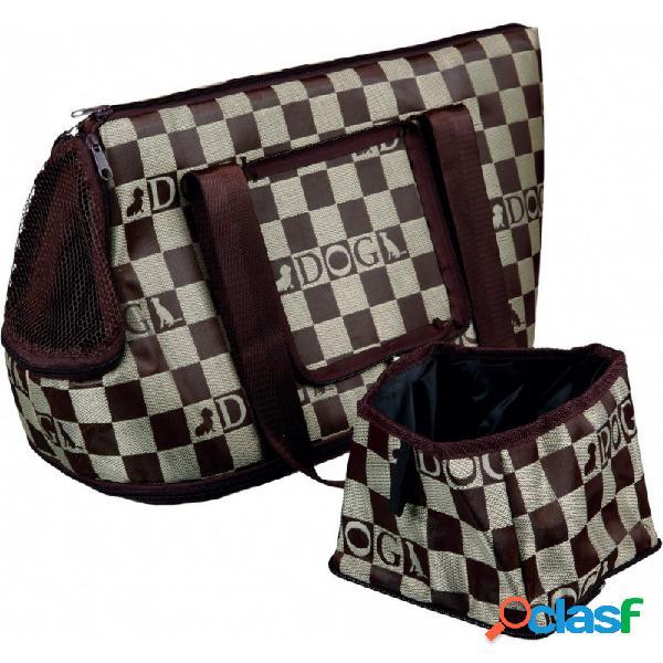 Trixie - Chess Borsa Trasporto Per Cani E Gatti Misura 21×25×45 Cm