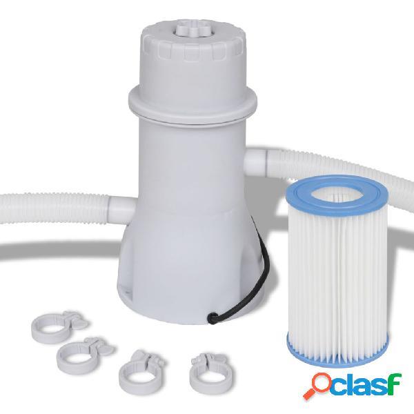 Vidaxl filtro con pompa per piscina 3785 l/h
