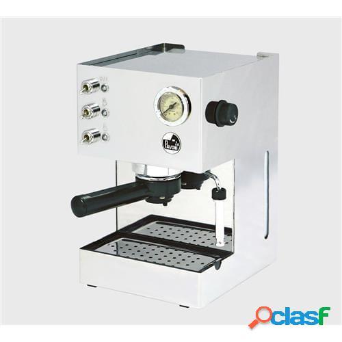 Macchina per caffè a pompa gran caffee steel pressurizzata