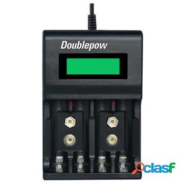 Caricabatterie usb rapido multifunzionale doublepow dp-uk95 - aa/aaa/9v