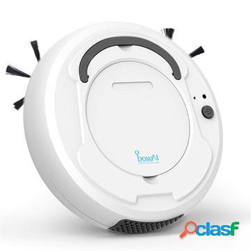 Robot Aspirapolvere Intelligente 3-in-1 BowAI - 1200PA, 28W - Bianco