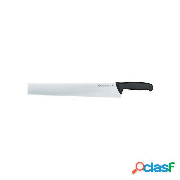 Coltello formaggio a punta quadra sanelli ambrogio 36 cm - acciaio - nero