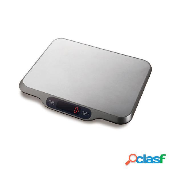 Bilancia digitale da cucina kg 15 - acciaio