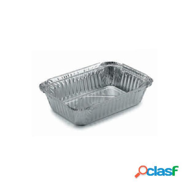 Contenitore Rettangolare Monouso Per Alimenti In Alluminio Lt 1
