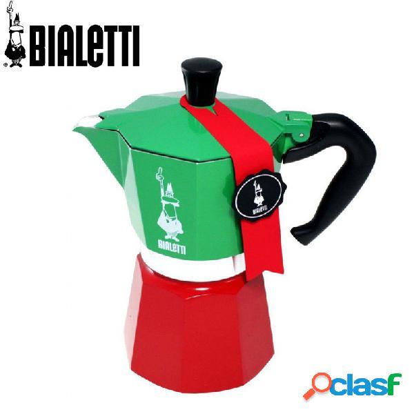 Bialetti tricolore moka express caffettiera moka 6tz