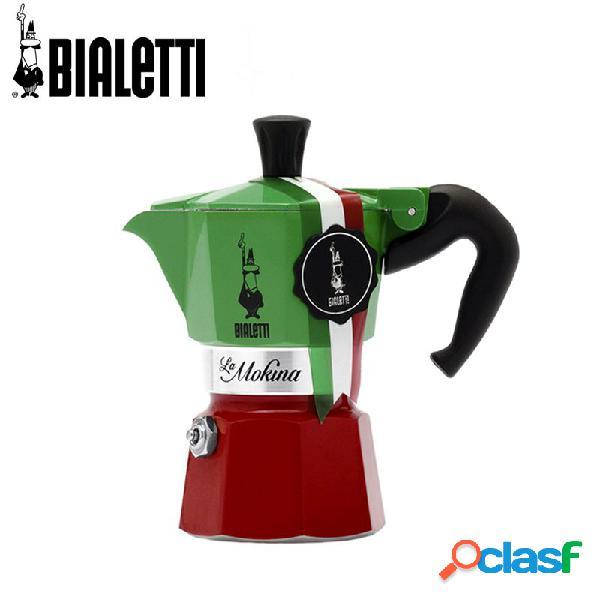Bialetti expo la mokina tricolore 40 cc caffettiera moka express