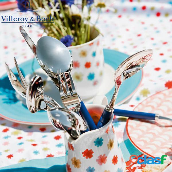 Villeroy & boch play set posate 30 pz ocean blue