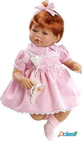 Bambola reborn muñecas guca vera capelli rossi e lentiggini