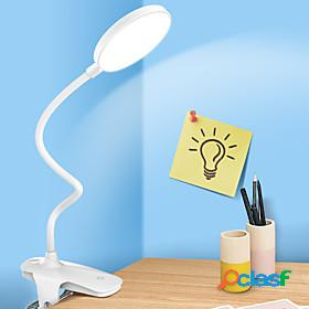 Desk lamp rechargeable / eye protection / adjustable modern contemporary usb powered for bedroom / study room / office dc 5v