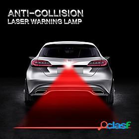 Car lights anti collision laser light automotive lazer taillight fog tail lamp warning alarm lights motorcycle truck
