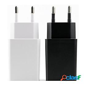 Waza 5v 2a usb charger eu plug travel charger phone adapter wall desktop charging power bank