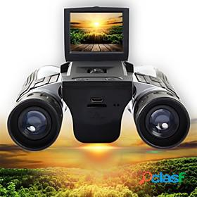 12 x 32 mm binoculars digital camera 2'' lcd display 1080p high definition with video photo recorder support 32g tf card usb observing wildlife bird watching c