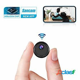 4k full hd mini wifi camera wireless with super night vision motion detection and phone app remote viewing for home security