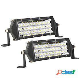 2pcs ultra thin 8 inch 5-row led work light offroad car truck driving fog lamps car accessories white light