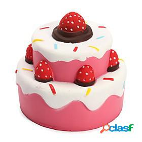 Squishy squishies squishy toy squeeze toy / sensory toy jumbo squishies stress and anxiety relief novelty super soft slow rising fooddrink strawberry cake anim