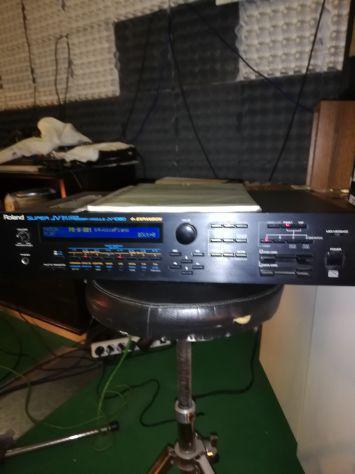 Espander roland jv1080 + opzional schede jv-80