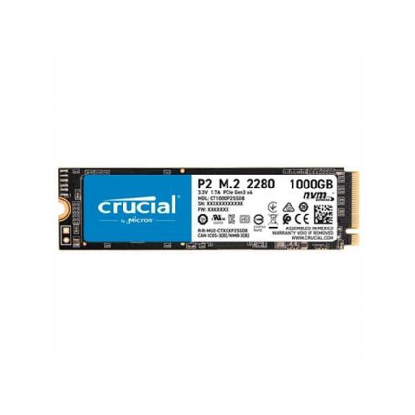 Hard disk crucial ct1000p2ssd8 1000gb ssd m.2