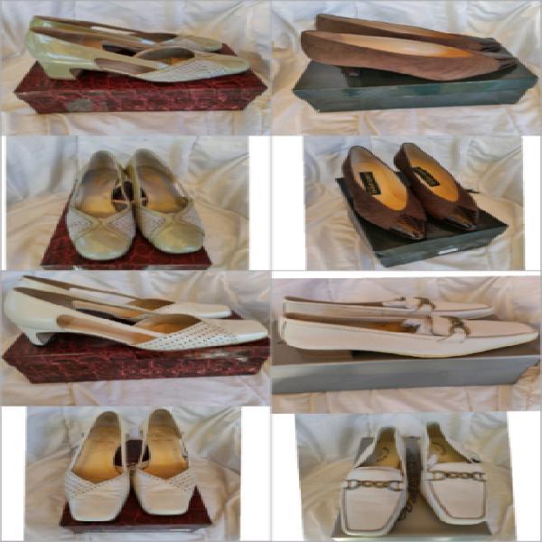 Lotto 19 paia scarpe da donna
