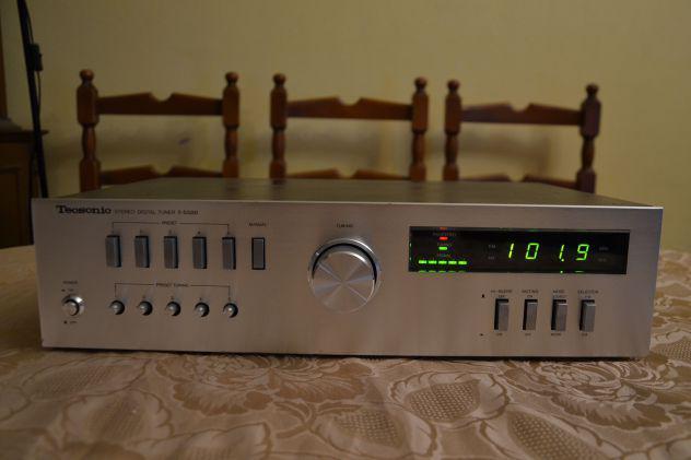 Tecsonic t-5500 sintonizzatore radio tuner digitale fm