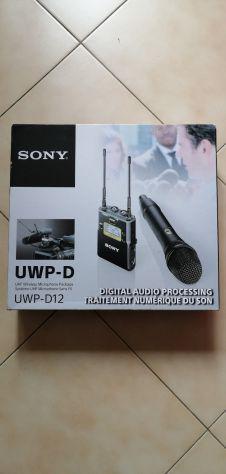 Microfono sony uwp-d12