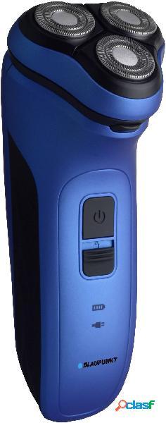 Blaupunkt msr401 rasoio elettrico a testine rotanti blu, nero