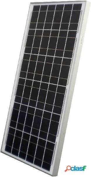 Sunset as 50 c pannello solare monocristallino 50 wp 12 v