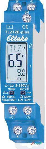 Eltako 23100800 relè temporizzatore luci scale guida din 8 v dc/ac, 12 v dc/ac, 24 v dc/ac, 110 v dc/ac, 230 v dc/ac