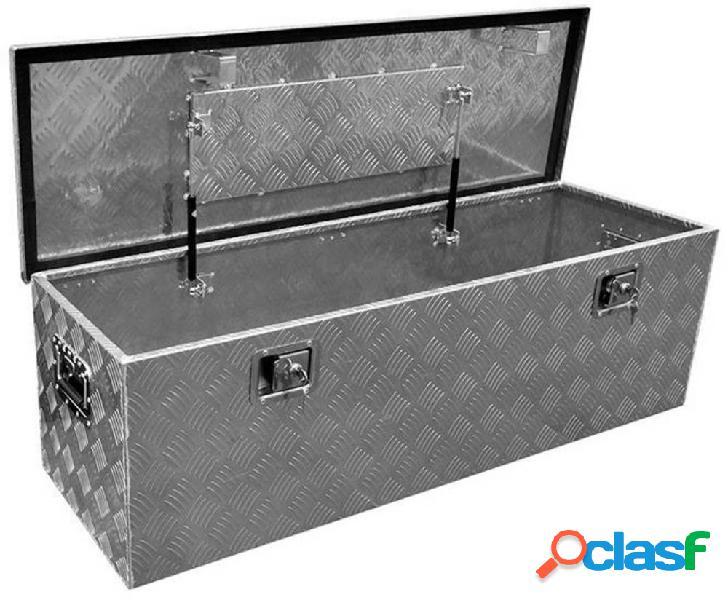 Proplus 340110 cassetta porta attrezzi vuota alluminio 1240 mm x 380 mm x 400 mm