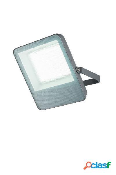 Proiettore led harald grigio 50w 5200lm rgb+cct ip65 bluetooth sig mesh 24,1x19,7x4,6cm led-harald-bt50