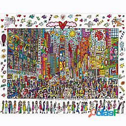 Modellini di legno giocattoli di logica e puzzle persone sollievo dallo stress e dall'ansia vista della città giocattoli di decompressione di legno 1000 pcs bambino adulto giocattoli regalo l