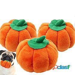 Halloween peluche giochi con suono giocattoli interattivi per gatti divertenti giocattoli per gatti prodotti per cani 1 pc adatto agli animali alimenti felpato regalo giocattolo per animali d