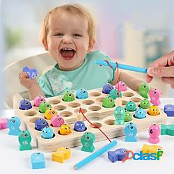 Gioco educativo animali creativo sollievo dallo stress e dall'ansia di legno 1 pcs bambino prescolastico tutti giocattoli regalo / interazione tra genitori e figli lightinthebox
