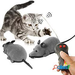 Topo giocattolo set di giocattoli per gatti giocattoli di emulazione giocattoli interattivi per gatti divertenti giocattoli per gatti gatto gattino giocattolo per gatti telecomando marcia ele
