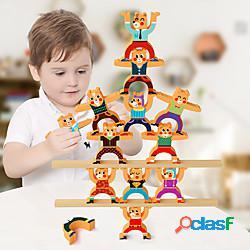 Puzzle 3d orso trasformabile animali romantico di legno 1 pcs bambino per ragazzi tutti ragazzi e ragazze giocattoli regalo / nuovo design / interazione tra genitori e figli lightinthebox