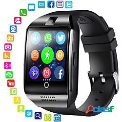 Per donna per uomo orologio sportivo intelligente guarda digitale digitale quadrato bluetooth telecomando gps / silicone lightinthebox