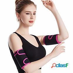 Trimmer per braccio sudore gli sport capelli toyokalon yoga allenamento in palestra pilates duraturo perdita di peso effetto sudorazione bruciagrassi per da donna lightinthebox