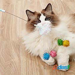 Rompicapi giocattolo morbido giocattolo interattivo giocattolo per gatti prodotti per cani prodotti per gatti 1 pc esercizio per animali domestici rilascio di pressione nylon regalo giocattol