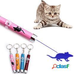 Rompicapi giochi laser giocattoli interattivi per gatti divertenti giocattoli per gatti prodotti per cani prodotti per gatti prodotti per roditori animali domestici 1 luminoso illuminazione l