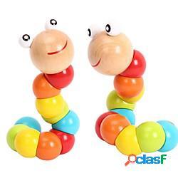 Giocattoli educativi per bambini giocattoli in legno montessori apprendimento precoce compleanno del bambino natale capodanno regalo giocattoli per bambini 1 pz miniinthebox
