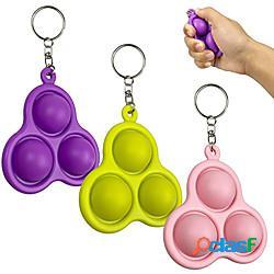 Agitarsi giocattolo semplice fossetta giocattoli cervello grasso sollievo dallo stress mano agitarsi giocattoli per bambini adulti autismo educativo precoce bisogno speciale miniinthebox